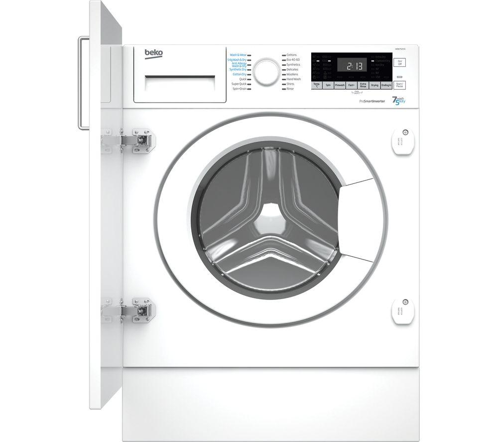 BEKO WDIK752151 Integrated 7 kg Washer Dryer