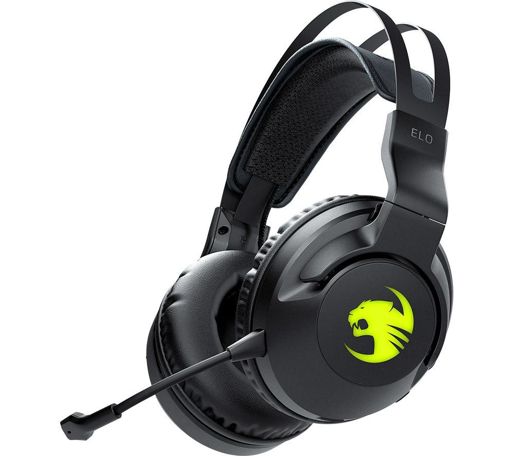 ROCCAT Elo Wireless 7.1 Gaming Headset - Black, Black