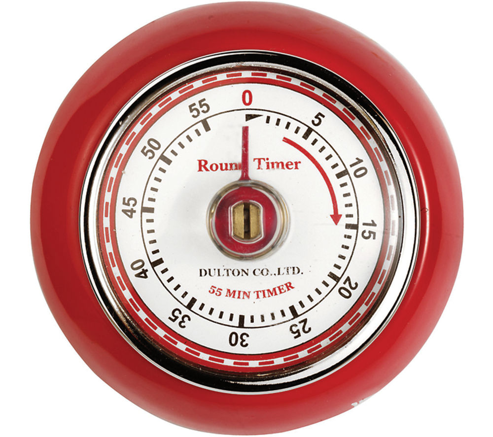 Buy EDDINGTONS Retro Magnetic Kitchen Timer - Red