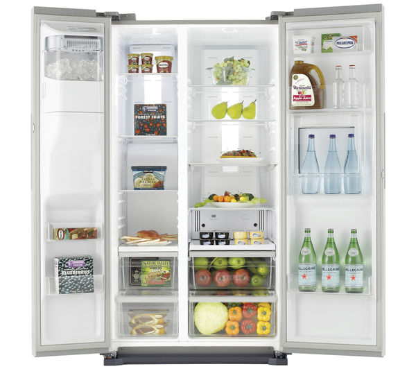 samsung rs7677fhcsl fridge freezer easy clean steel
