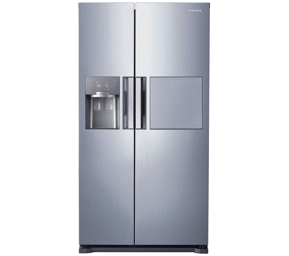 buy samsung rs7677fhcsl american style fridge freezer easy clean steel free delivery currys. Black Bedroom Furniture Sets. Home Design Ideas