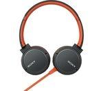 SONY MDR-ZX660AP Headphones - Orange