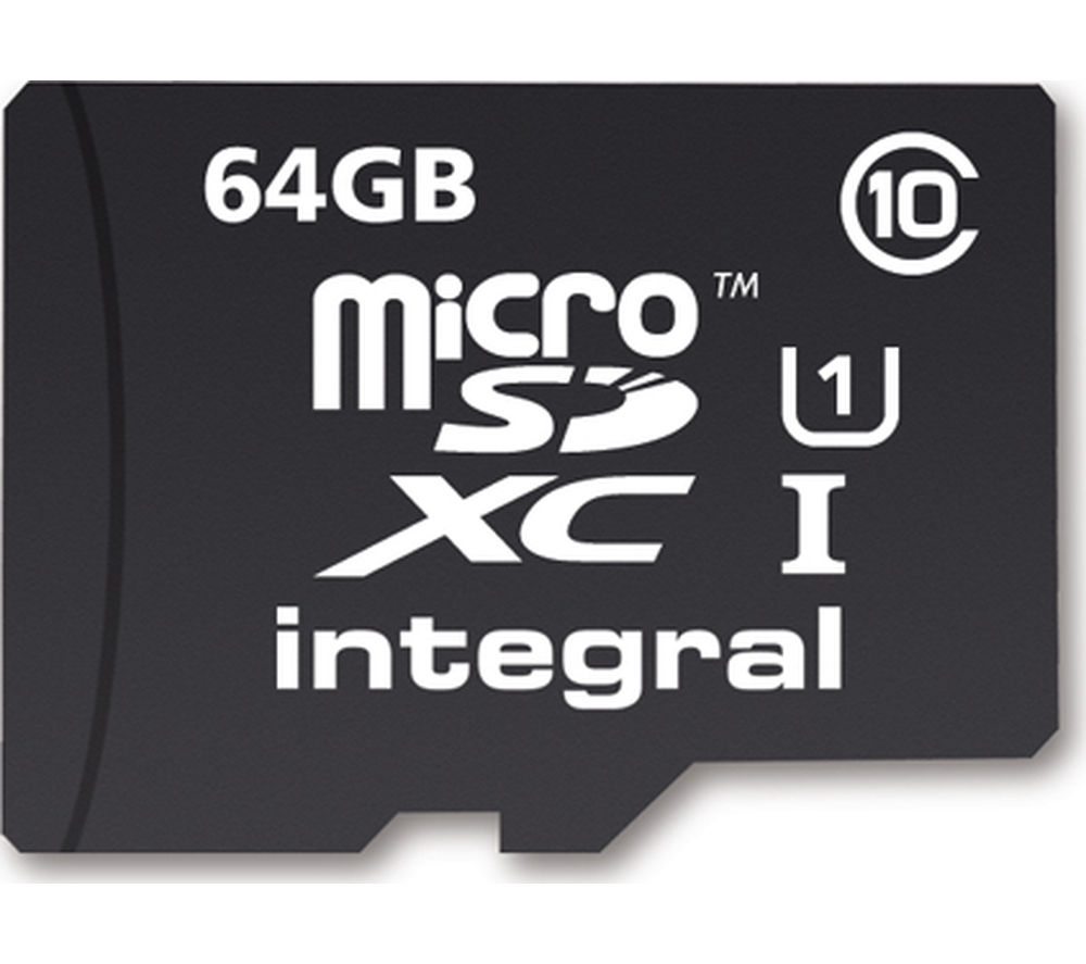 INTEGRAL UltimaPro High Performance Class 10 microSDXC Memory Card - 64 GB