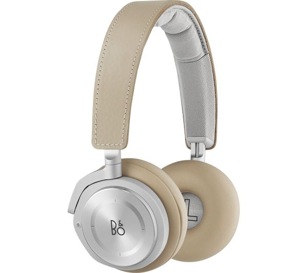 Image of B&O Beoplay H8 Wireless Bluetooth Noise-Cancelling Headphones - Natural