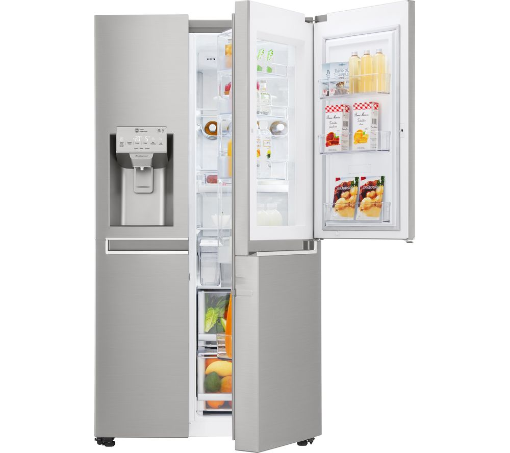 buy lg gsj961nsbv american style fridge freezer stainless steel free delivery currys. Black Bedroom Furniture Sets. Home Design Ideas