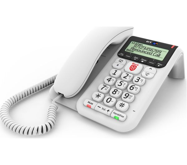 Buy BT Décor 2600 Corded Phone with Answering Machine ...