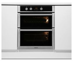 Class 4 DU4541JCIX Electric Built-under Double Oven - Stainless Steel