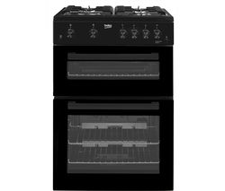 BEKO KDG611K 60 cm Gas Cooker - Black Best Price, Cheapest Prices