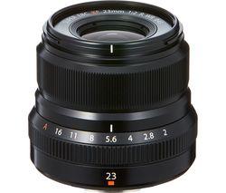 Fujinon XF 23 mm f/2.0 R WR Wide-angle Prime Lens