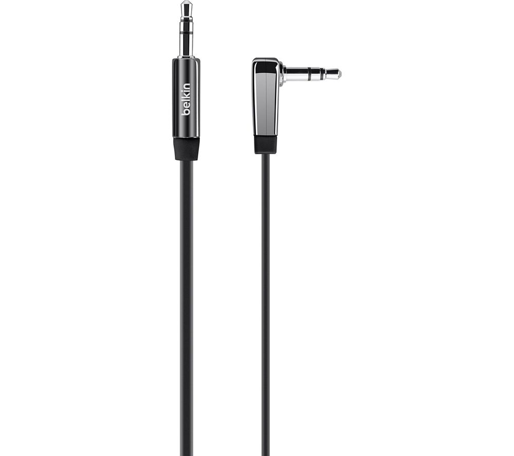Image of BELKIN AV10128cw03-BLK 3.5 mm AUX Cable - 0.9 m