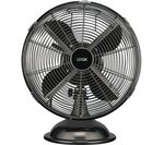"LOGIK L12DFGM17 12"" Desk Fan - Gun Metal"