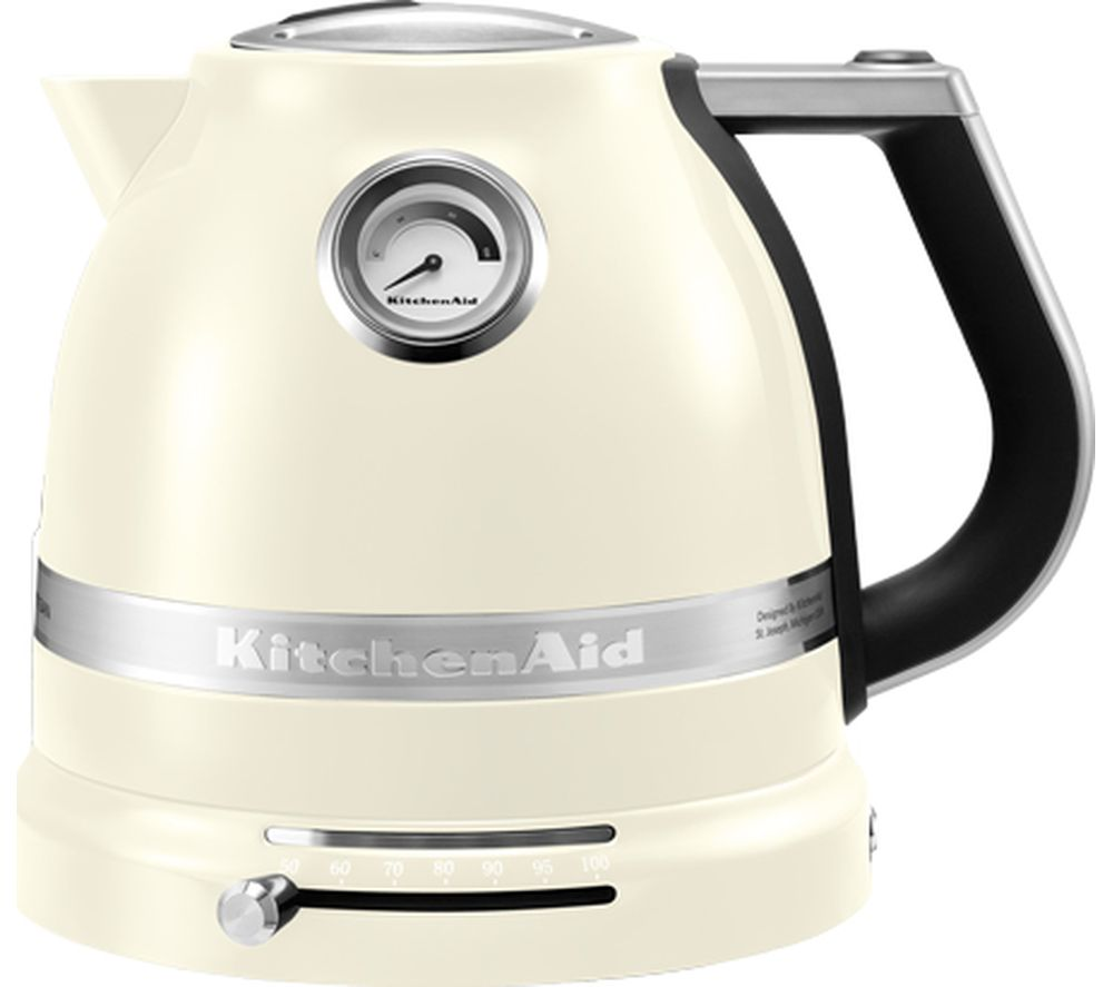 KITCHENAID Artisan 5KEK1522BAC Traditional Kettle - Almond Cream