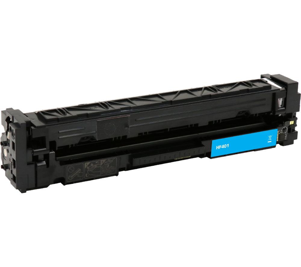 Image of ESSENTIALS Remanufactured CF401A Cyan HP Toner Cartridge
