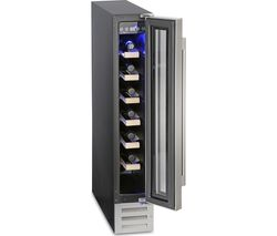 MONTPELLIER WS7SDX Wine Cooler - Stainless Steel