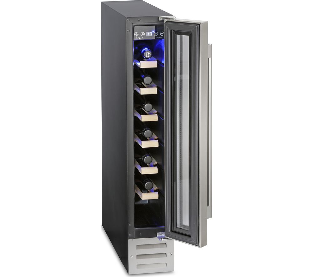 MONTPELLIER WS7DX Wine Cooler – Stainless Steel, Stainless Steel