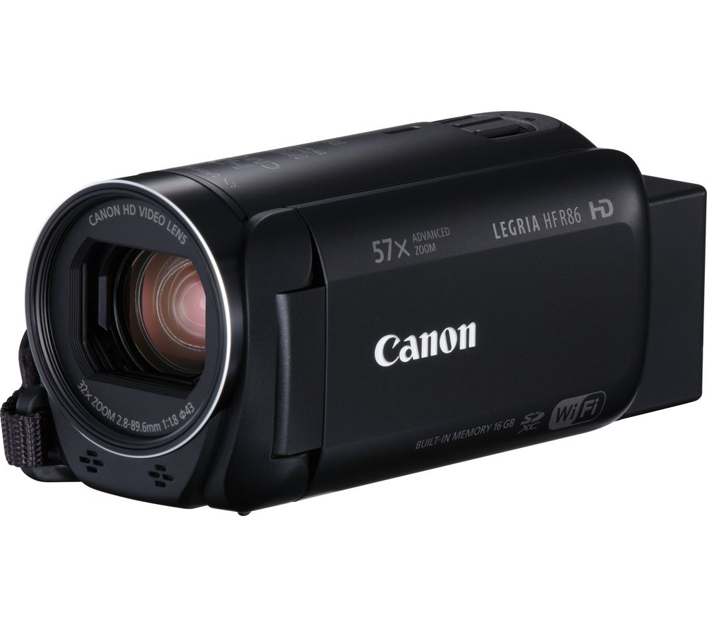 Compare cheap offers & prices of Canon LEGRIA HF R86 Camcorder manufactured by Canon