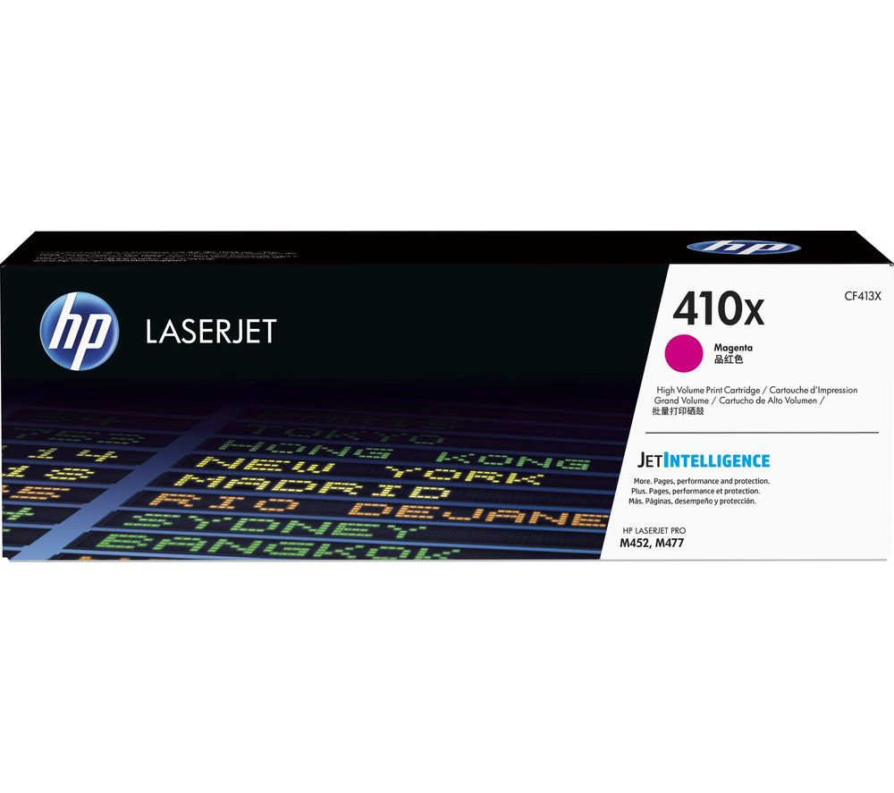 HP 410X High Yield Original LaserJet Magenta Toner Cartridge