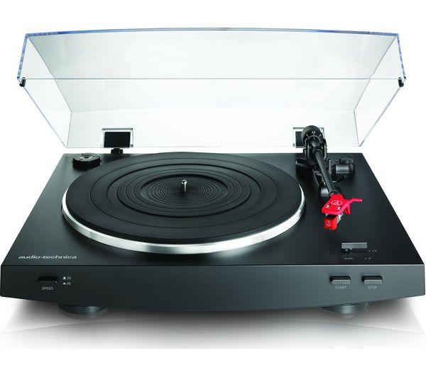 Image of AUDIO TECHNICA AT-LP3 Belt Drive Turntable - Black