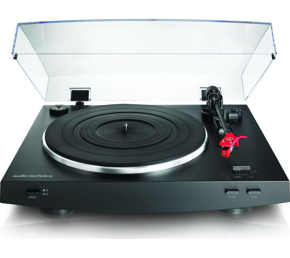 AUDIO TECHNICA AT-LP3 Turntable - Black, Black