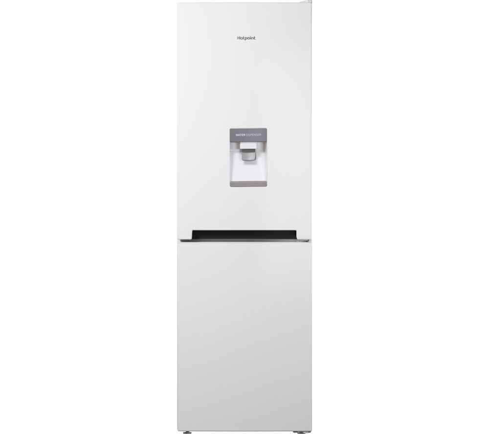 HOTPOINT Day 1 LC85 F1 W WTD 60/40 Fridge Freezer - White