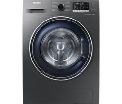 SAMSUNG ecobubble WW80J5555FX/EU 8 kg 1400 Spin Washing Machine - Graphite