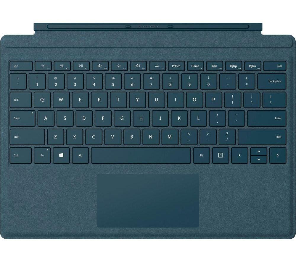 Buy Microsoft Surface Pro Typecover Cobalt Blue Free