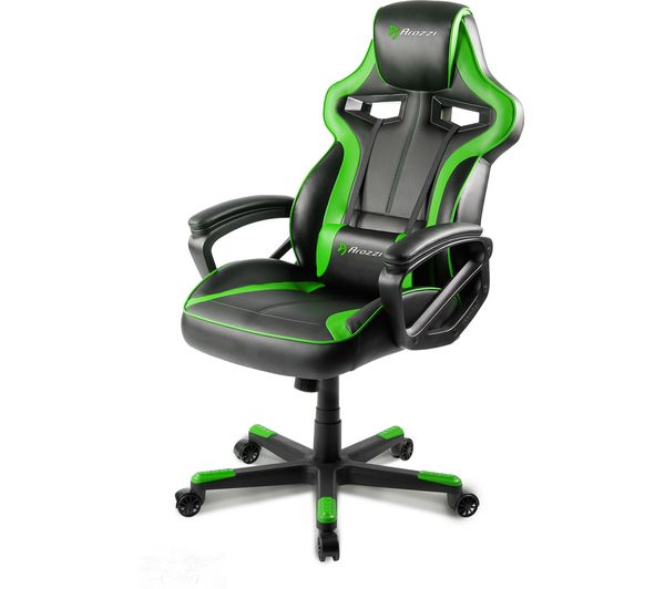Buy Arozzi Milano Gaming Chair Green Free Delivery