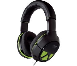 TURTLE BEACH XO Three Gaming Headset - Black & Green