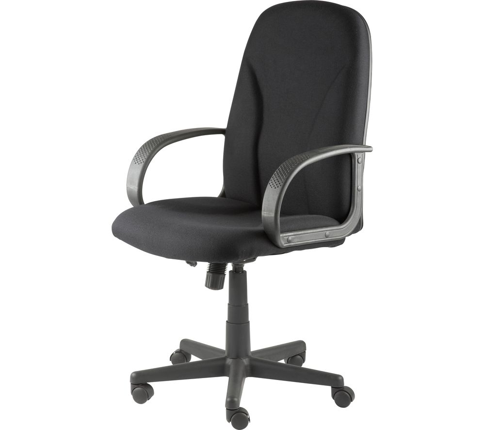 Compare retail prices of Alphason Boston AOC3282-BK Fabric Tilting Executive Chair to get the best deal online