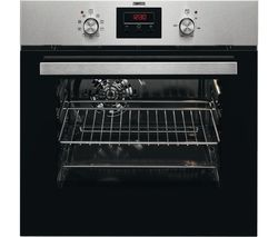 ZANUSSI ZZB35901XK Electric Oven - Stainless Steel & Black