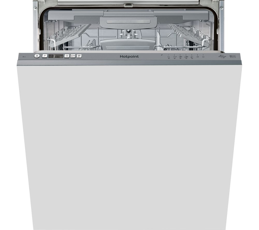HOTPOINT HIC 3C26 W F Integrated Full-size Dishwasher