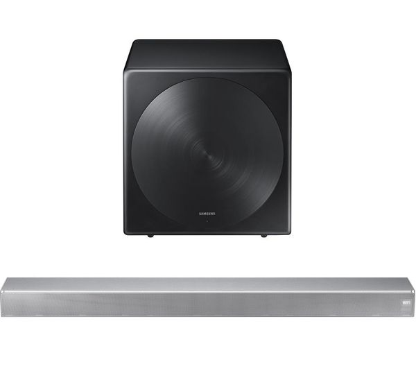 Samsung All In One Sound Bar Wireless Subwoofer Bundle