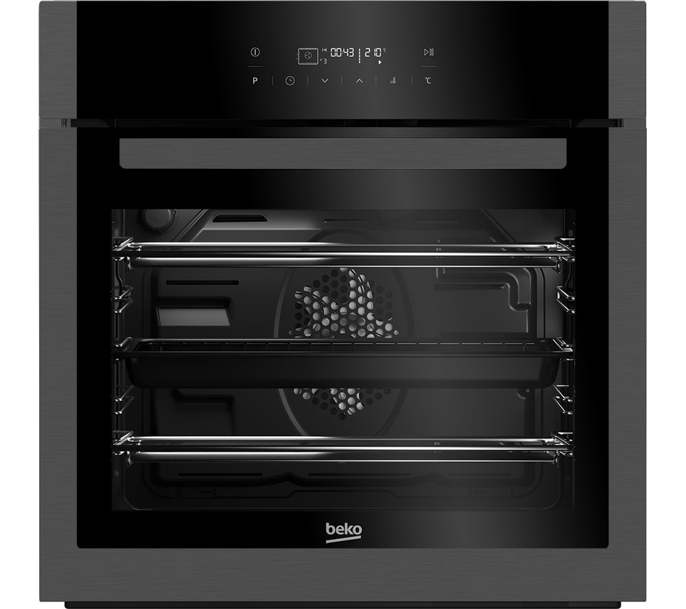 BEKO Pro BXIM29400Z Electric Oven - Dark Steel