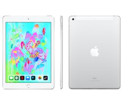 "APPLE 9.7"" iPad - 32 GB, Silver (2018)"