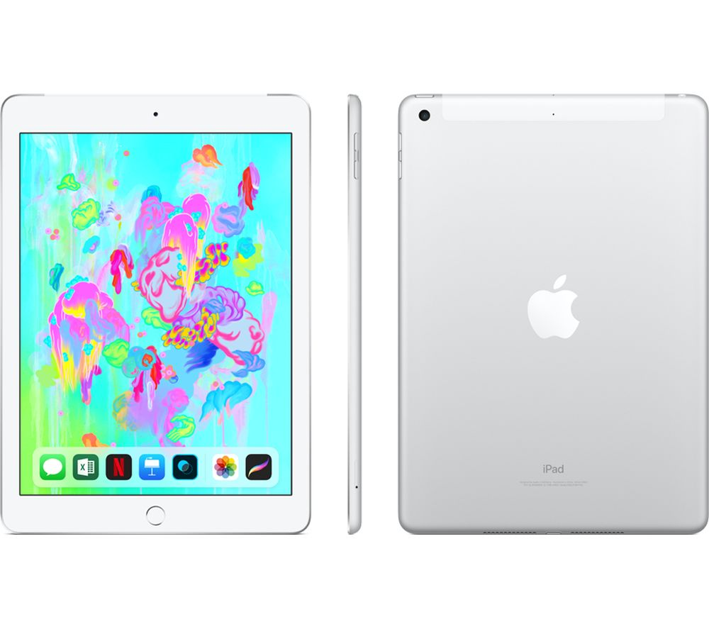 "APPLE 9.7"" iPad (2018) - 32 GB, Silver"