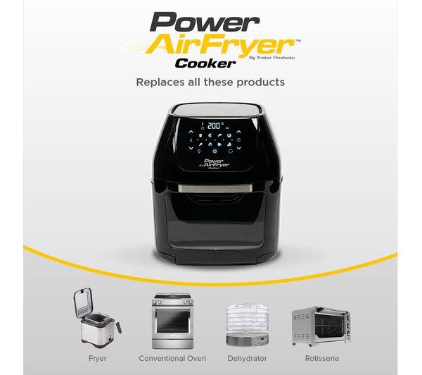 POWER AIRFRYER Cooker - Black