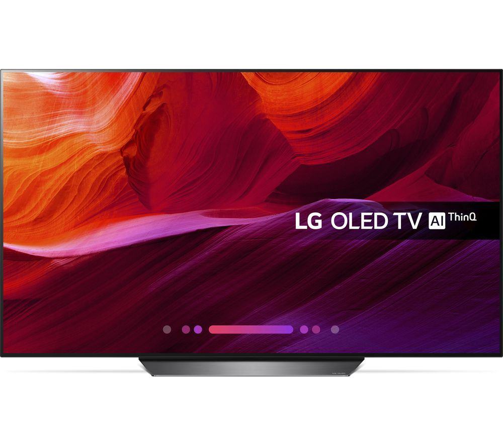 "LG OLED65B8PLA 65"" Smart 4K Ultra HD HDR OLED TV + SFLEZ14 Medium to Large Fixed TV Bracket"