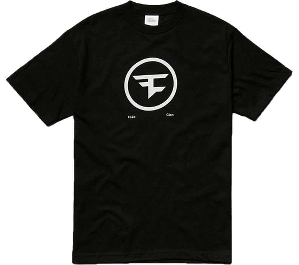 FAZE Circle Logo T-Shirt - Medium, Black