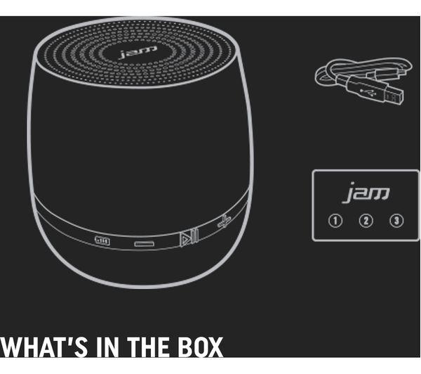JAM Classic 2 0 HX-P190RD Portable Bluetooth Speaker - Red