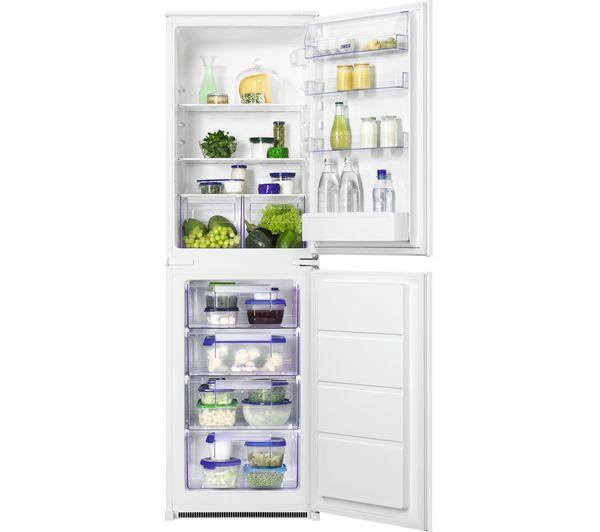 Image of ZANUSSI ZBB27450SV Integrated 50/50 Fridge Freezer