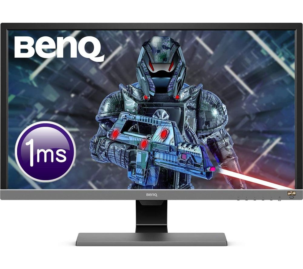 "BENQ EL2870U 4K Ultra HD 27.9"" LED Gaming Monitor - Black & Grey"