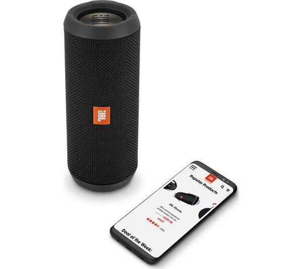 Buy JBL Flip 3 Stealth Portable Bluetooth Speaker