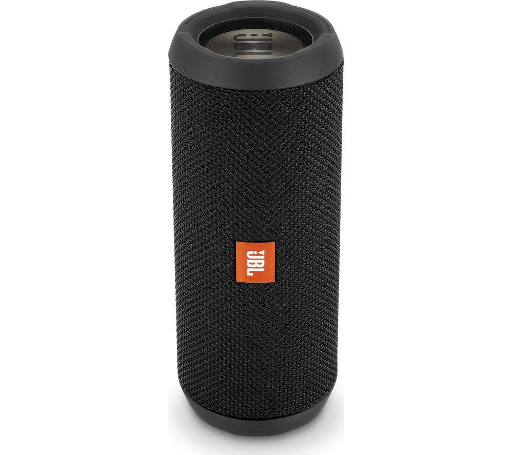 JBL Flip 3 Stealth Portable Bluetooth Speaker - Black