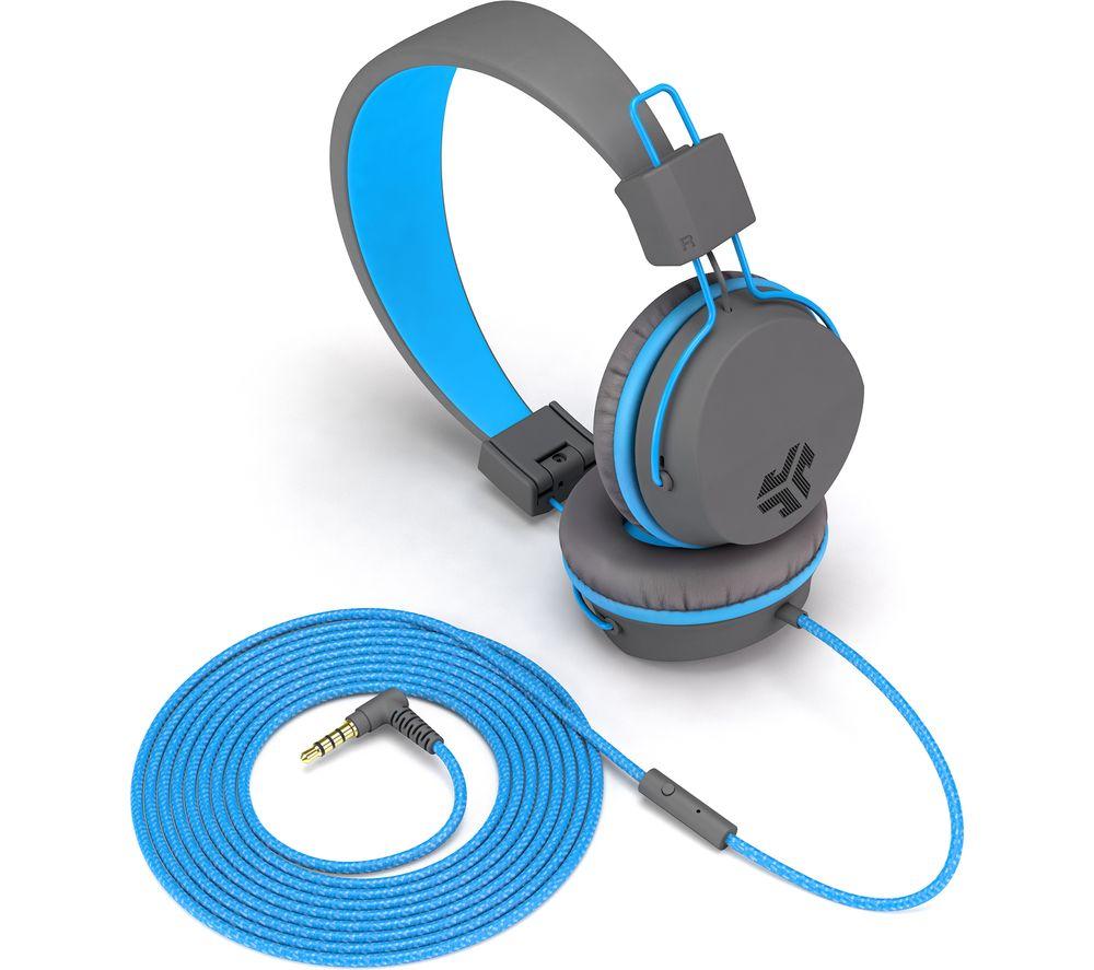 Image of JLAB AUDIO JBuddies Studio Kids Headphones - Blue, Blue