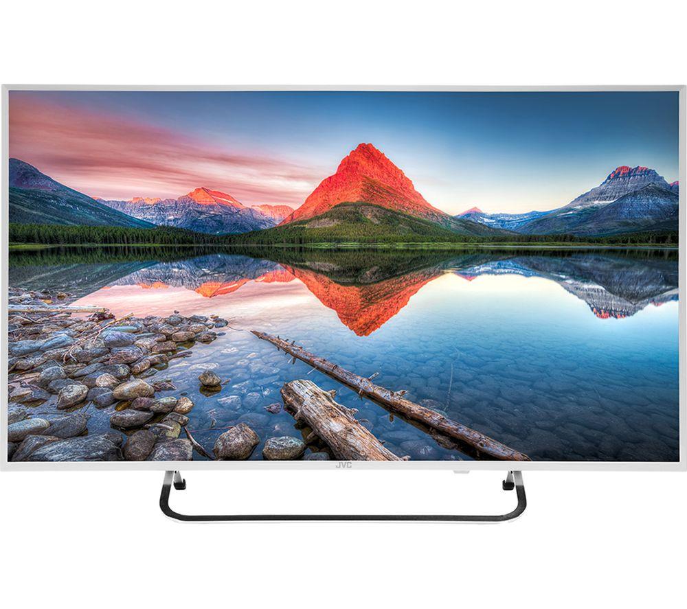 """Image of 40"""" JVC LT-40C591 Full HD LED TV - White, White"""