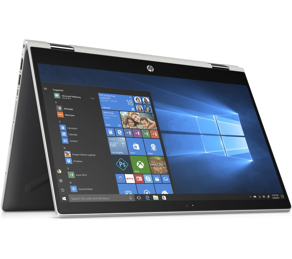 "HP Pavilion x360 14-cd1511sa 14"" Intel® Core™ i3 2 in 1 - 128 GB SSD, Silver"