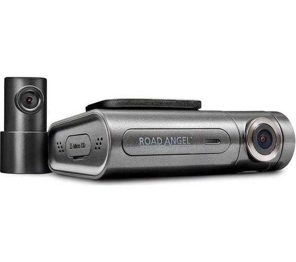 Image of ROAD ANGEL Halo Pro Quad HD Dash Cam - Black & Grey