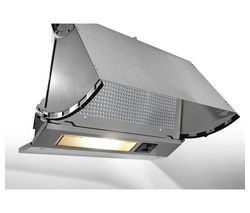 CANDY CBP613NGR Integrated Cooker Hood - Grey