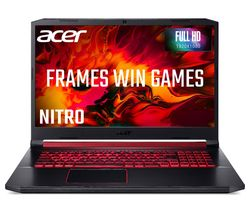 "Image of ACER Nitro 5 AN517-51 17.3"" Gaming Laptop - Intel® Core¿ i5, 1 TB HDD & 256 SSD"