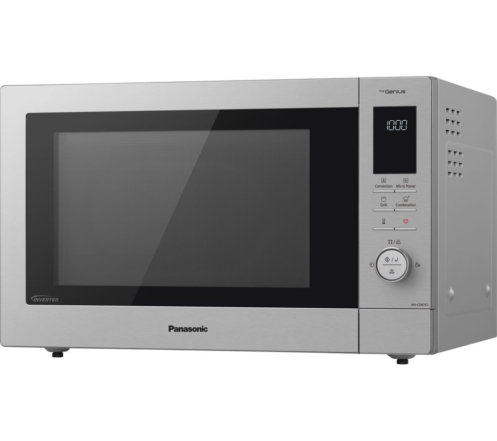 PANASONIC NN-CD87KSBPQ Compact Combination Microwave - Stainless Steel, Stainless Steel